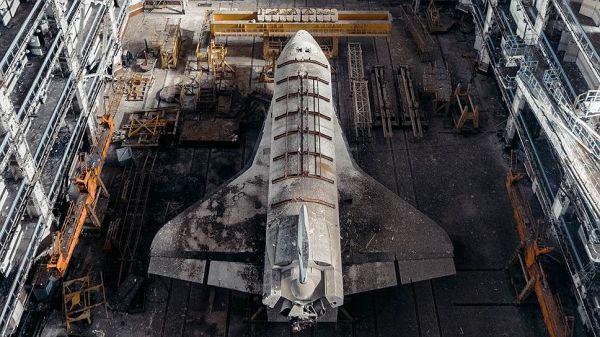 """Орбитальный космический корабль """"Буран"""""""