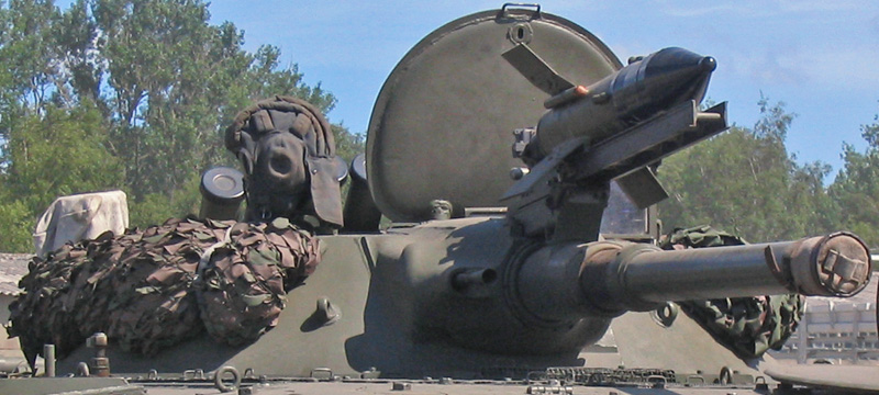 Орудие 2А28, установленное на боевую машину пехоты БМП-1.