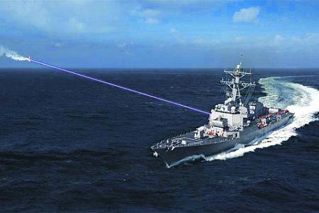Оружие на новых физических принципах становится одним из приоритетов высокотехнологичных армий. Иллюстрация с сайта www.lockheedmartin.com