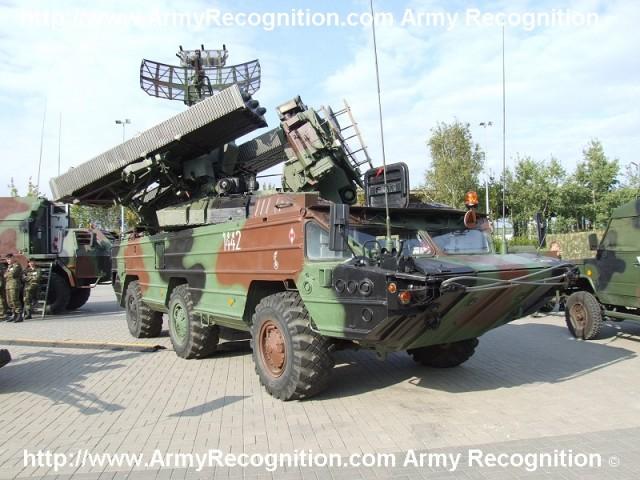 Зенитный ракетный комплекс «Оса-AK/AKM» ВС Польши.