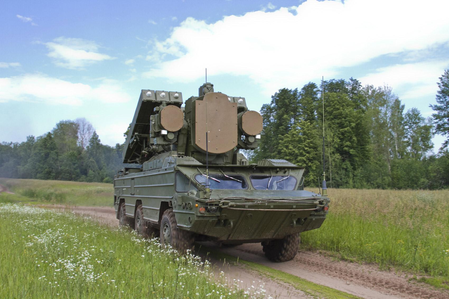 Модернизированный комплекс ЗРК «Оса-АКМ».