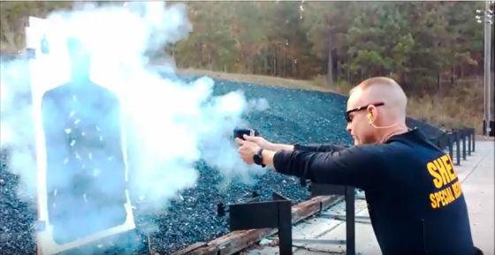 Испытания пистолета «ОСА»