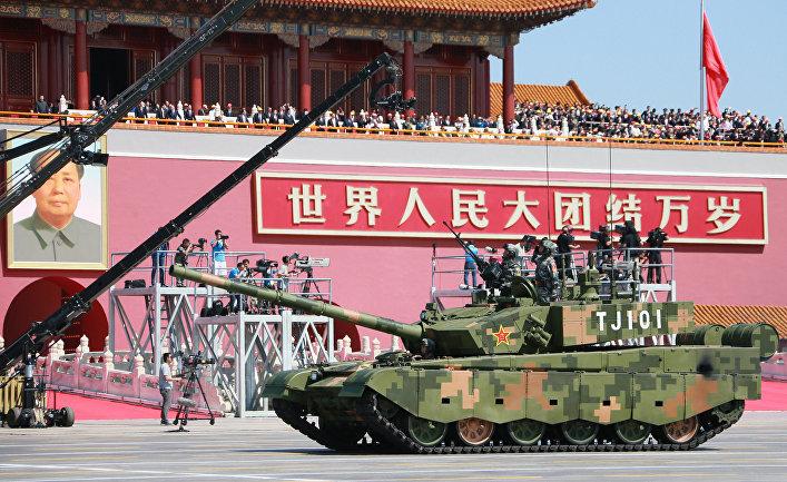 Основной боевой танк Type 99 A2 Народно-освободительной армии Китая.