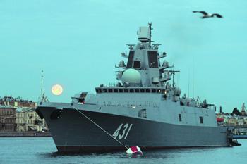 Отечественные фрегаты проекта 22350 по основным параметрам лучше западных. Фото РИА Новости