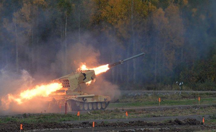 Открытие 10-й международной выставки Russia Arms Expo.