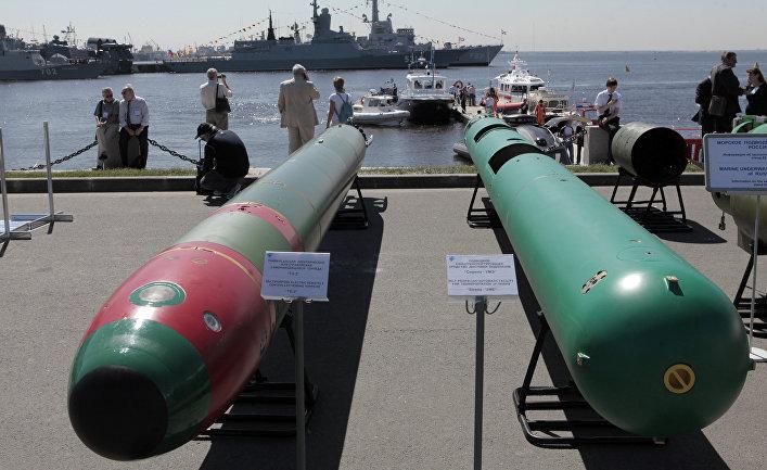 Открытие Международного военно-морского салона (МВМС-2011).