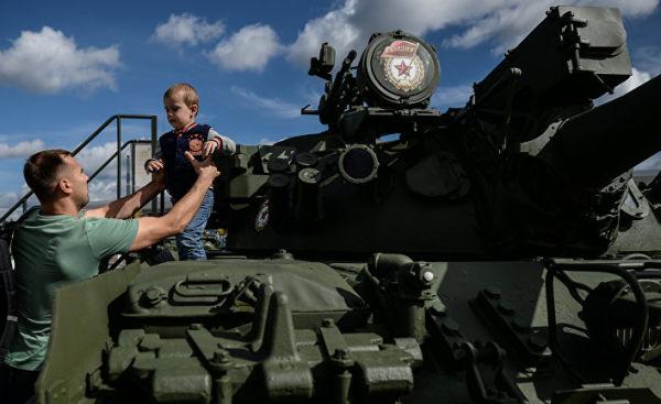 """Открытие Международного военно-технического форума """"АРМИЯ-2016"""""""
