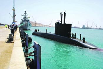 Отсутствие воздухонезависимой энергетической установки – главное препятствие для продвижения российских субмарин на экспорт. Фото с сайта www.indiannavy.nic.in