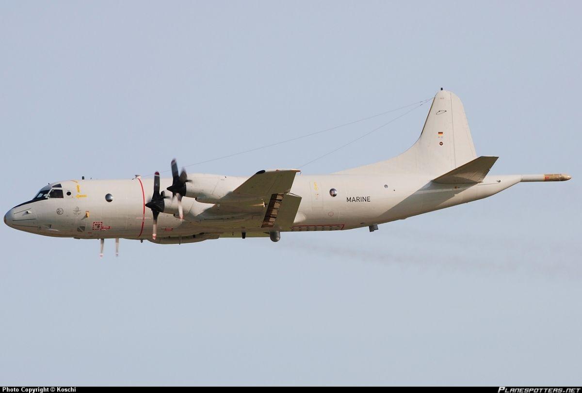 Патрульный самолет P-3C Orion ВВС Германии.