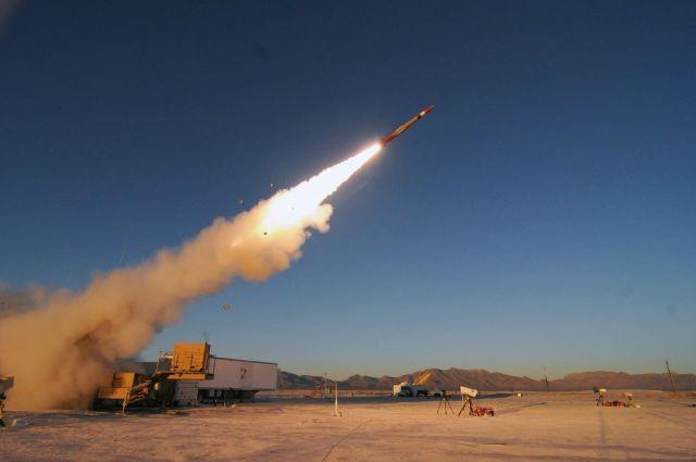 Испытания Patriot PAC-3 MSE