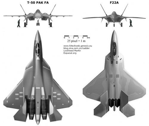 Истребитель пятого поколения Т-50 (изделие 701)