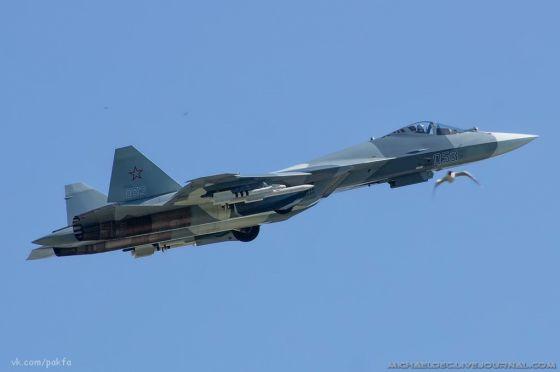 Самолет Т-50-3
