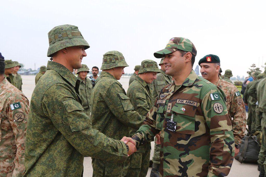 34-я отдельная мотострелковая (горная) бригада в Пакистане.