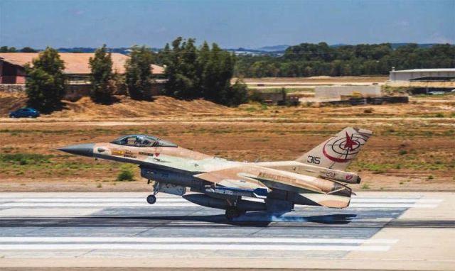 F-16 ВВС Израиля