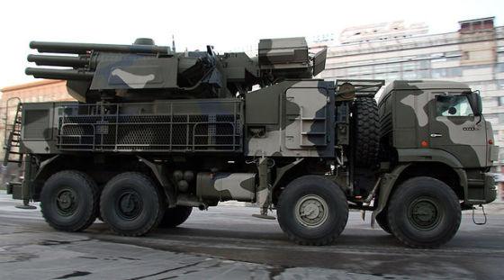 "96К6 ""Панцирь-С1"" на шасси КамАЗ-6560"