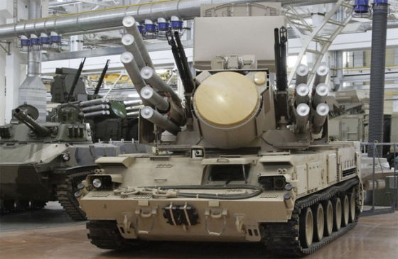 """""""Панцирь-С1"""" на шасси ГМ-352М1Е"""