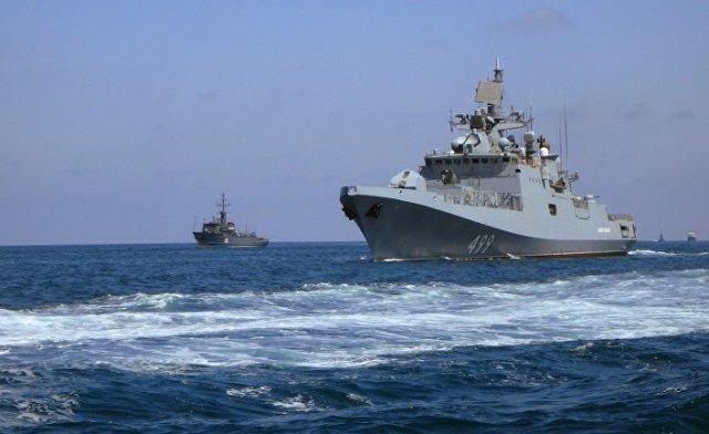 Парад ВМФ в Сирии