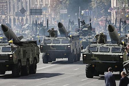Парад ВСУ в Киеве