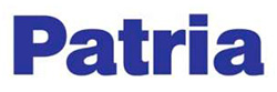 Логотип компании Patria.