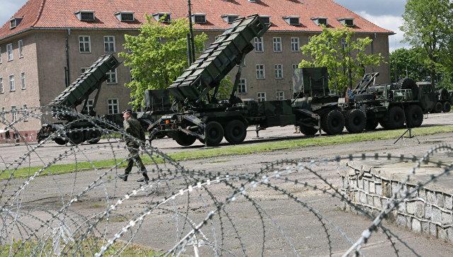 Американский ракетный комплекс Patriot в Польше.
