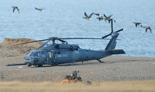 Sikorsky HH-60G Pave Hawk.
