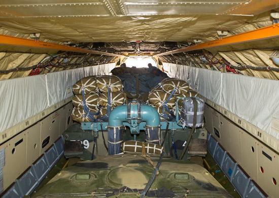 Парашютно - бесплатформенная система десантирования ПБС-950У (Бахча-У-ПДС).