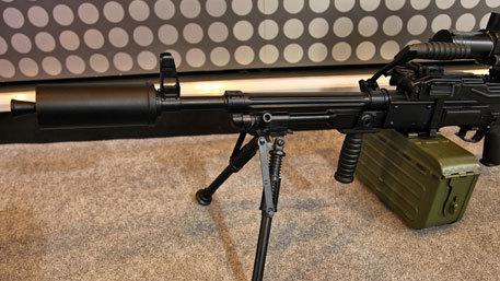 Пулемет «Печенег» калибра 7,62 мм.