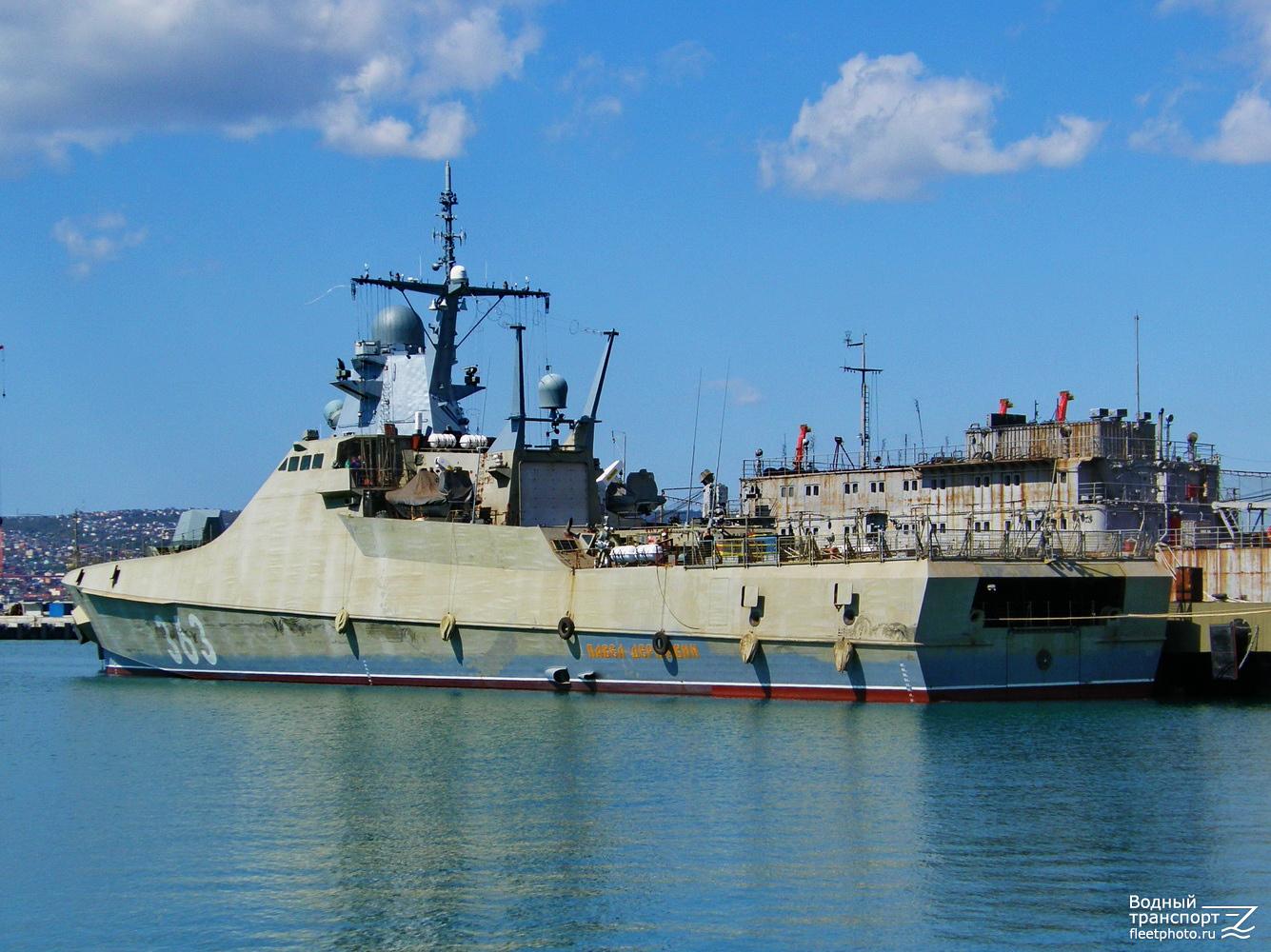 Черноморский флот готовится принять новый патрульный корабль проекта 22160