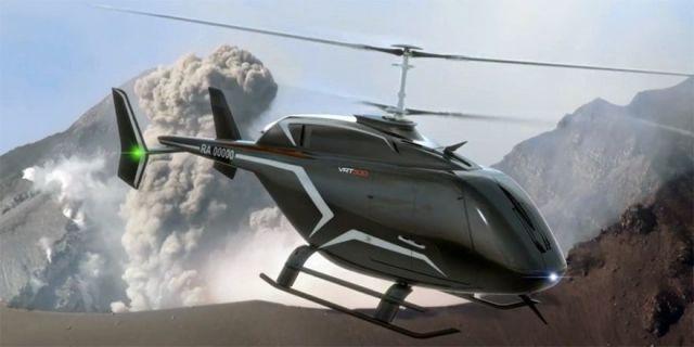 Перспективный лёгкий многоцелевой вертолёт VRT500