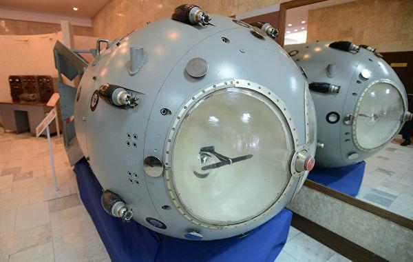 Первая советская атомная бомба РДС-1 в музее РФЯЦ-ВНИИЭФ