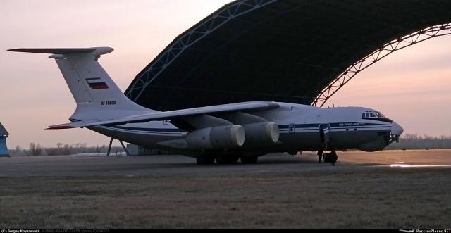 """Первый построенный в 2020 году на АО """"Авиастар-СП"""" военно-транспортный самолет Ил-76МД-90А (заводской номер 0203, регистрационный номер RF-78658). Ульяновск, 17.03.2020"""