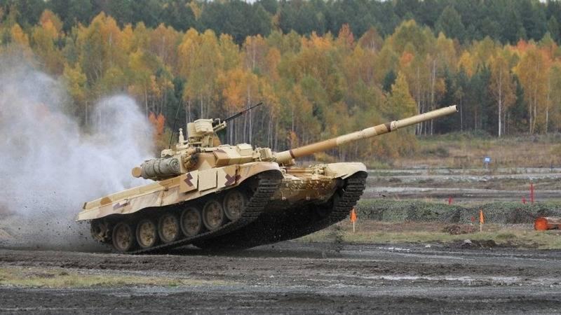Танк Т-90С.