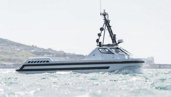 Первый и засекреченный. ВМС Британии получили беспилотный минный тральщик