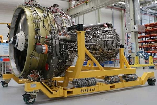 Первый образец китайского двигателя АСАЕ CJ-1000AX для пассажирского самолета COMAC C919.
