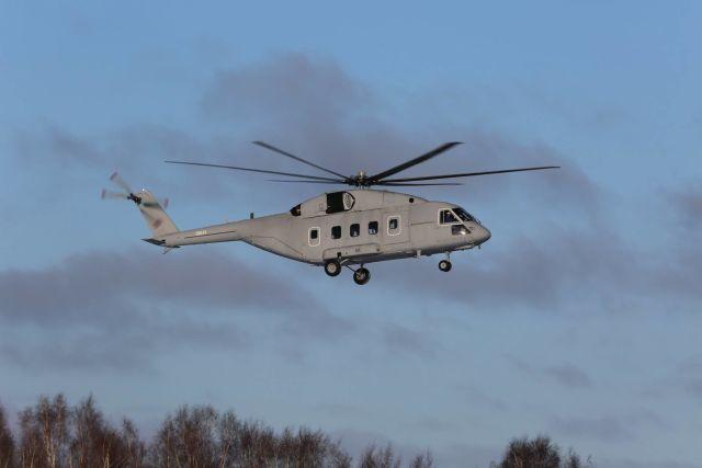 Первый опытный образец вертолета Ми-38Т