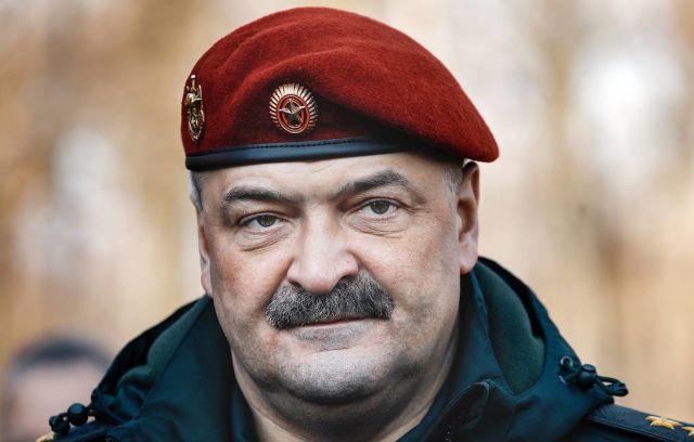 Первый заместитель главы Росгвардии Сергей Меликов
