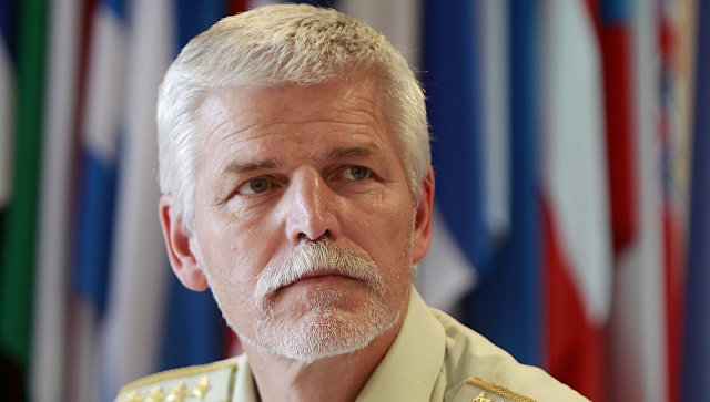 Генерал чешской армии Петр Павел.