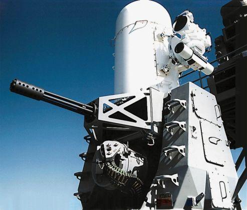 Система ближнего боя (Close-In-Weapon-System - CIWS) Phalanx