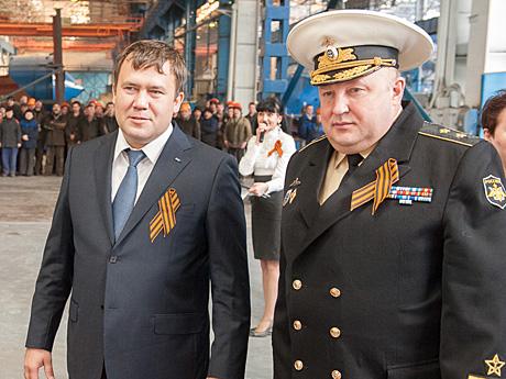 Ренат Мистахов и Сергей Алекминский