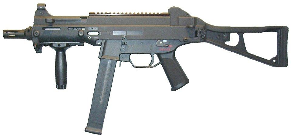 Пистолет-пулемет H&K UMP .45 (Германия).