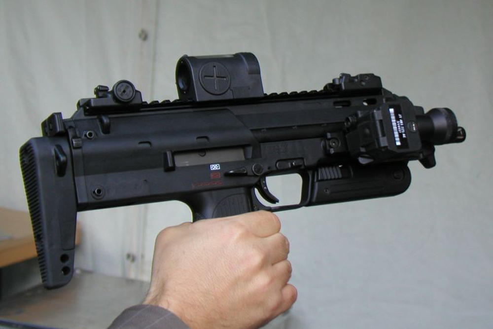 Немецкий пистолет-пулемет MP7.