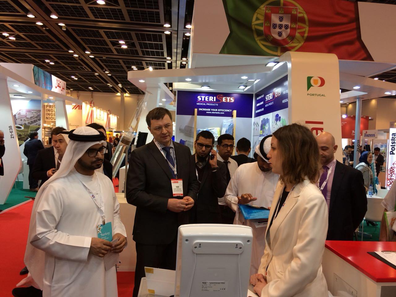 Медицинская техника POZIS концерна «Техмаш» на выставке Arab Health-2018 в ОАЭ, г. Дубаи.