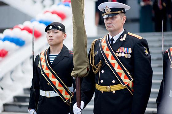 Открытие Президентского кадетского училища в г. Владивостоке