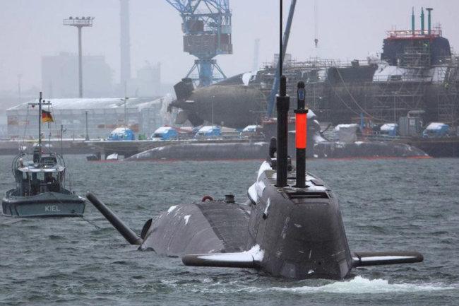 Немецкая подводная лодка U-35.