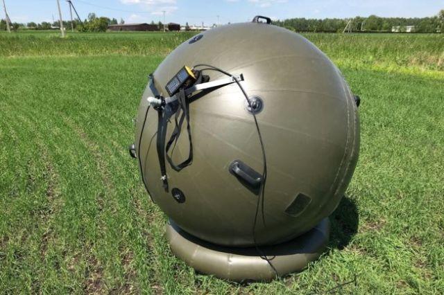 Пневматический комплект спутниковой связи