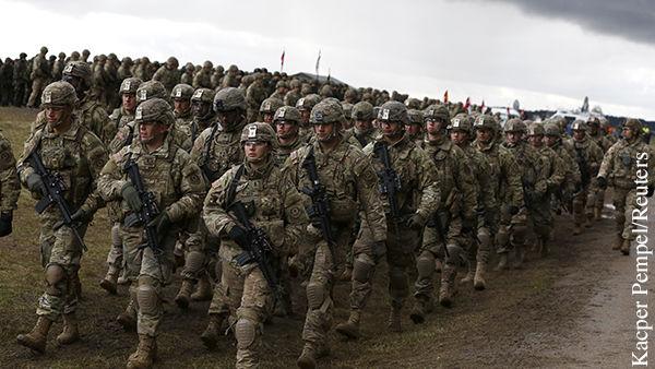 По экспертным оценкам, натовский контингент вблизи российских границ создается в качестве оккупационных войск