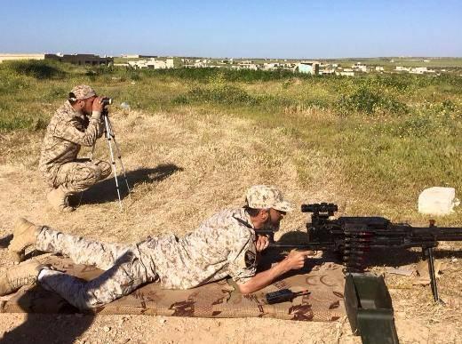 """Крупнокалиберный пулемет """"Корд"""" в ВС Сирии."""