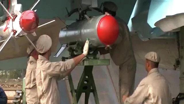 Подготовка и боевые вылеты Су-34, вооруженных ракетами воздух-воздух.