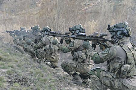 Подготовке личного состава Сил спецопераций ВС Турции уделяется приоритетное внимание. Фото со страницы Министерства обороны Турции в Flick