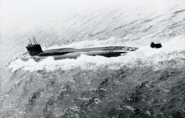 Подлодка проекта 667А